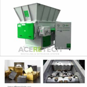 EMS Series Medium Shredder for Plastic Lumps/Pipes/Film/Woven Bags pictures & photos