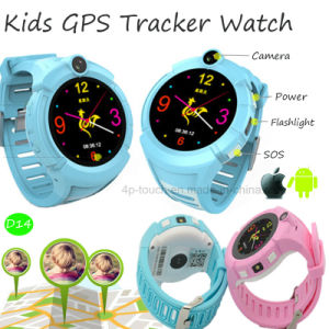Newest Kids GPS Tracker Watch with Sos Function (D14) pictures & photos