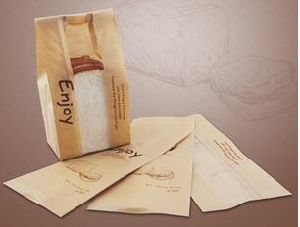 Bakery Bag with Window Kraft Paper Bag Without Handle pictures & photos