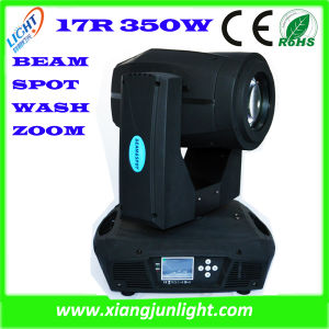 New 17r Sharpy 350W Beam&Spot&Wash 3 in 1 Moving Head pictures & photos