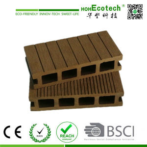 WPC Decks and Terrace/Natural Feel Wood Plastic Composite Decking Board pictures & photos