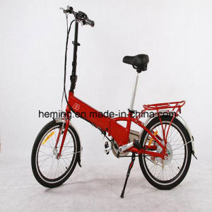 "20"" Tire 250W Electric Folding Bike with Ce pictures & photos"