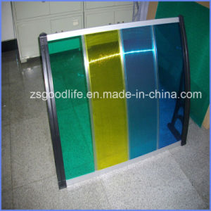 Economic Outdoor 150X400cm DIY Polycarbonate Entrance Canopies pictures & photos