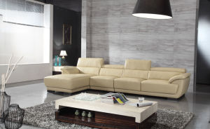 Best-Selling Modern Living Room Sectional Leather Sofa (HC226) pictures & photos