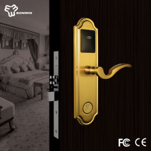 Smart Card Electronic Sliding Door Lock for Hotel/Office/Home pictures & photos