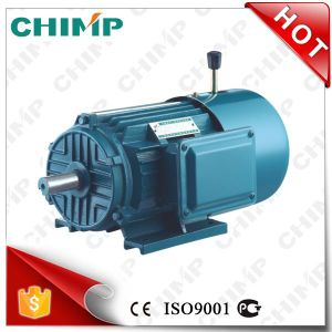 CE Approved Chimp Yej Series 2 Poles 37kw AC Electromagnetic Brake Three Phase Asychronoous Electric Motor pictures & photos