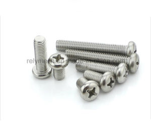 Fastener Stainless Steel Pan Head Screw/Round Head Screw/Phillip Screw M2-M6 pictures & photos