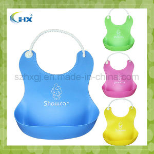 Cheap Colorful FDA Approved Food Grade Silicone Baby Bibs