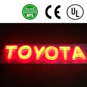Backlit Stainless Steel Illuminous 3D Letter Signs LED Lighted Sign pictures & photos