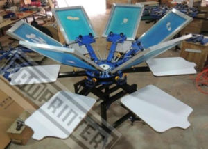 TM-R6 6 Color 6 Station T-Shirt Screen Printing Machine pictures & photos