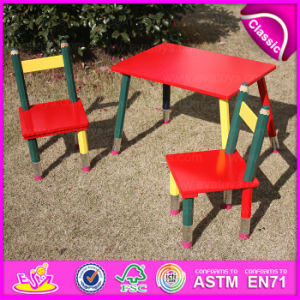 2015 Excellent Quality Cheap Folding Kids Pencil Table and Chairs, Cartoon Pencil Used Children Table and Chair Wholesale Wo8g138 pictures & photos