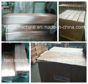 Crystallizer Copper Mould Tube for Continuous Casting Machine pictures & photos