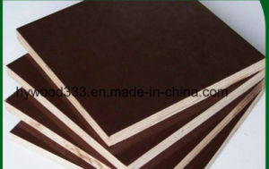 Film Faced Plywood, Shuttering Plywood Used for Construction Plywood Concrete Formwork pictures & photos