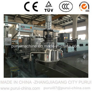 Waste Plastic Recycling Pelletizing Machine for Medical TPE Straps pictures & photos