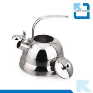 Fashion Stainless Steel 2.5L Electric Tea Kettle Tetera Whistling Kettle Roman Kettle pictures & photos