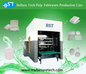 Take Away Lunch Fiber Box Molding Machine pictures & photos