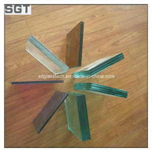 6.38mm PVB Toughened/Tempered Laminated Glass for Curtain Walls pictures & photos
