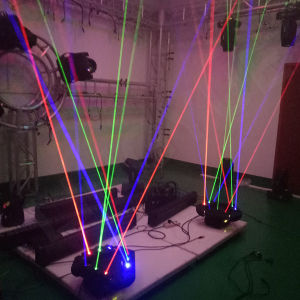 Spider Stage DMX DJ Moving Head Laser with 9 Heads pictures & photos