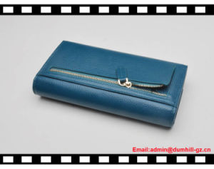 Leather Bifold Lady Wallet RFID Women Wallets pictures & photos