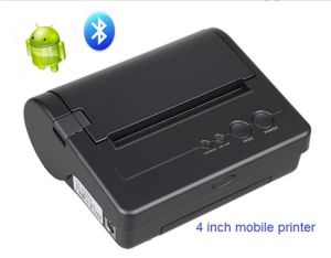 4 Inch Mobile Wireless Bluetooth Thermal POS Mini Receipt Printer Ts-M410 pictures & photos