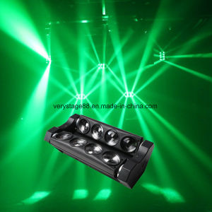 8*10W RGBW Quad in 1 LED Spider Beam Bar/8 Head LED Spider Beam Bar pictures & photos