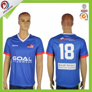 Team Custom Sublimation Cheap Wholesale Soccer Jerseys pictures & photos