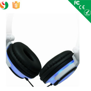 Chargable Cartoon LED Light Headset Headphone pictures & photos