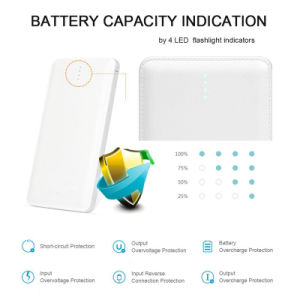 5V2a Power Bank 10000mAh Powerbank External Batter Portable Phone Charging pictures & photos