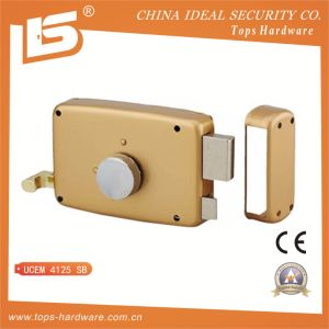Round Cylinder Rim Lock, Horizontal with Pull-Action - Ucem 4125 Sb pictures & photos