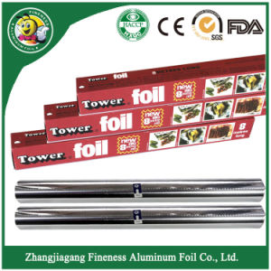 Household Aluminum Foil Roll for Food Package pictures & photos