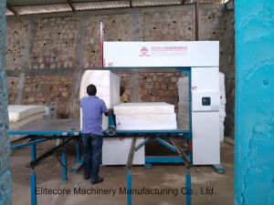 Fully Automatic Vertical Machine for Cutting Sponge Foam pictures & photos
