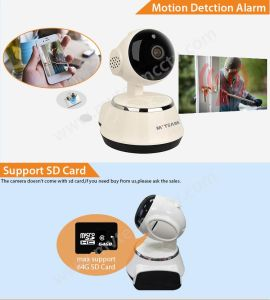 Two-Way Intercom P/T 720p WiFi Smart Cloud IP Camera pictures & photos