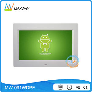 Android WiFi Wireless Touch Screen 9 Inch Digital Frame Review pictures & photos