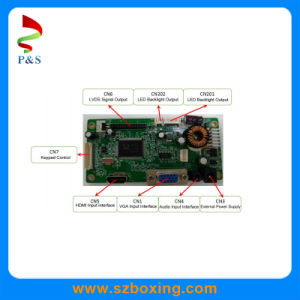 LED Backlight TFT-LCD Control Board with VGA DVI Interface pictures & photos