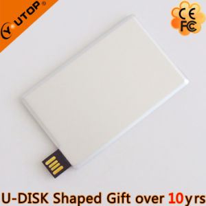 Personalized Gift Metal Sliding Card USB Disk (YT-3116) pictures & photos