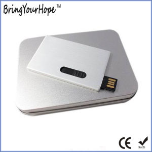 Stretch Chip Design Metal Business Card USB (XH-USB-012M) pictures & photos