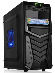 Shield-Type Panel Design Desktop Computer Case Full Tower ATX PC Case (D335) pictures & photos