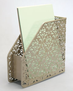 Unique Office Supplies/ Metal Mesh Stationery Magazine Holder/ Office Desk Accessories pictures & photos