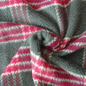 Herringbone and Checked Fabric, for Jacket, Garment Fabric, Textile Fabric, Clothing