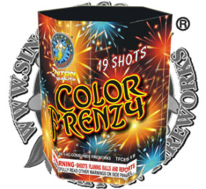 Color Frenzy 19 Shots2. /Wholesales Fireworks pictures & photos