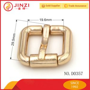 Jinzi Zinc Alloy Pin Belt Buckle Small Roller Bukle for Handbag pictures & photos
