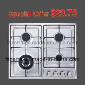Good Price China LPG Stainless Steel Gas Hob S4502A pictures & photos
