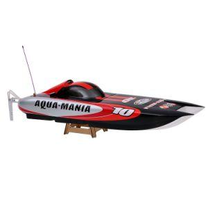 225bl075ap-Original Aqua Mania 1300bp (A) 2.4G High Speed RTR Electric Fiberglass RC Boat with Pistol Transmitter pictures & photos