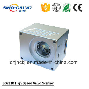 Desktop Fiber Laser Marking Machine Spare Parts Sg7110 Galvo Scanner pictures & photos