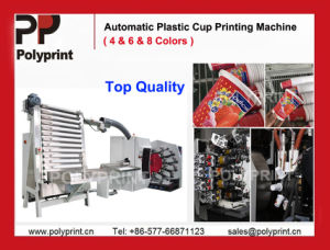 Curved Surface Plastic Cup Printing Machine pictures & photos
