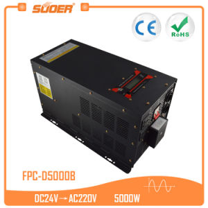 Suoer 24V 220V DC AC Pure Sine Wave Power Inverter (FPC-D5000B) pictures & photos