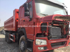 Low Price Used 6X4 Sinotruk HOWO Tipper Truck for Sale pictures & photos
