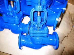 DIN Cast Steel Bellows Globe Valve Bw Ends Pn40 pictures & photos