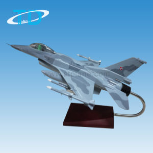 F-16 Battleplane Model Camoufl Resin Model pictures & photos