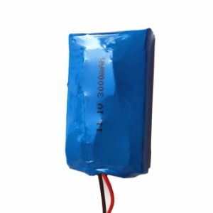 503759pl 11.1V or 12V 3000mAh Rechargeable Battery Pack with PCM and Wires, pictures & photos
